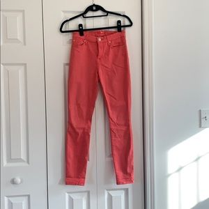 used but great condition pink 7 jeans